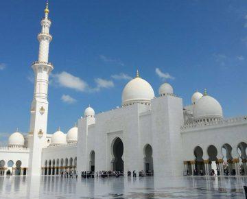 Go For Cruise Verenigde Arbaische Emiraten Abu Dhabi moskee