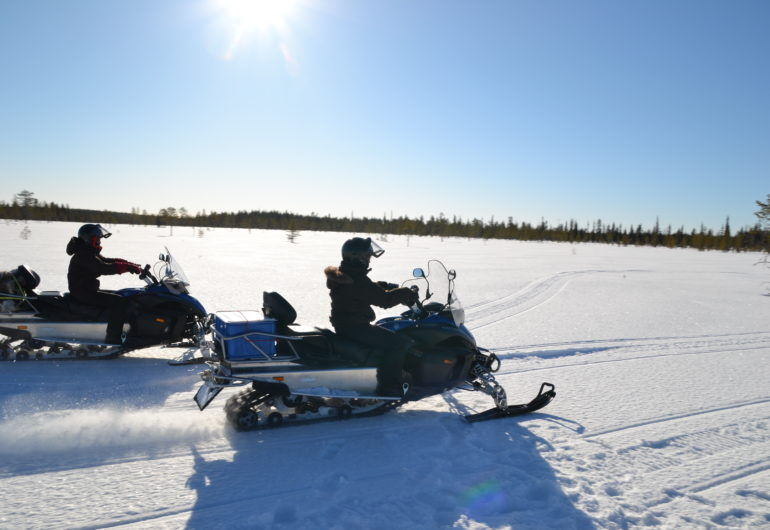 Go For Cruise Go For Lapland sneeuwscooter