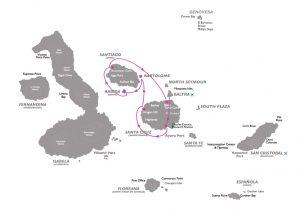 Rondreis Ecuador en Galapagos Expeditie Cruise 2021 - Coral - Routa A