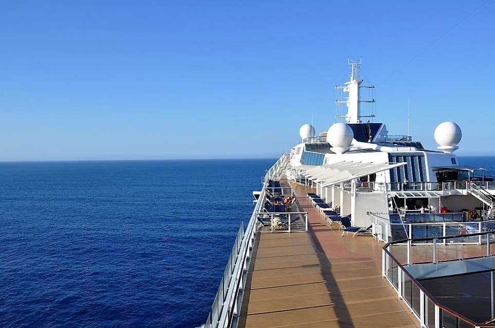 Japan Cruise 2022 - Celebrity Solstice - vaart