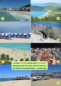 Kwis foto 3 - Stranden klein