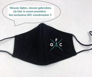 GFC mondmasker in avant-première